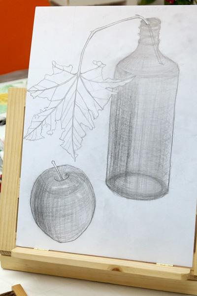 絵画造形教室アトリエベレット デッサン