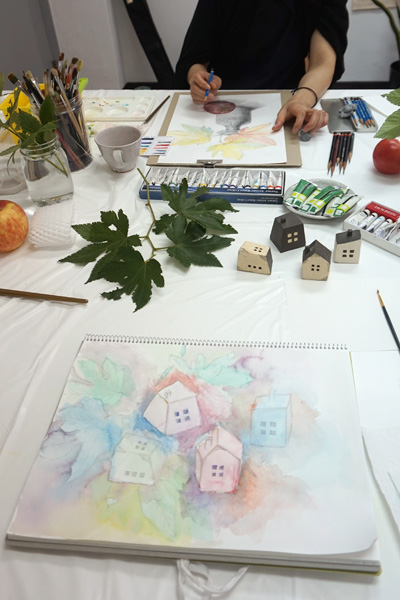 絵画造形教室アトリエベレット生徒作品展
